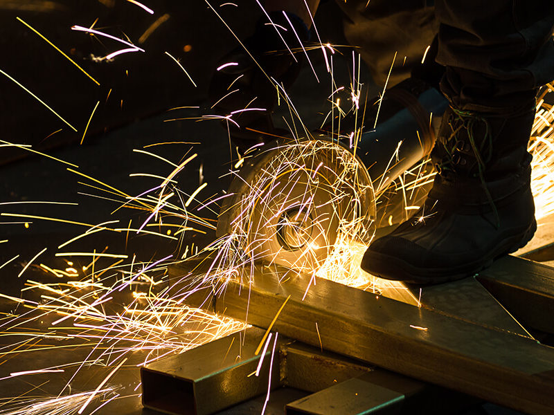 Dangers involved in metal fabrication
